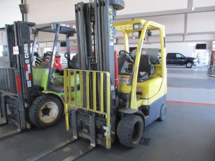 HYSTER S55FTS LIFT TRUCK