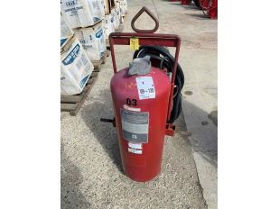 LOT 350LB WHEELED ANSUL FIRE EXTINGUISHER