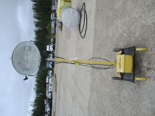 LOT OF 400 WATT PORTABLE LIGHT TOWER