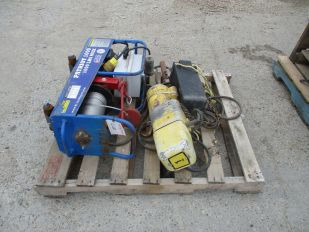 LOT OF PATRIOT 1000LB HOIST