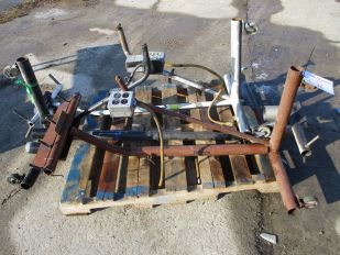 LOT OF THREE 3 WHEEL STANDS