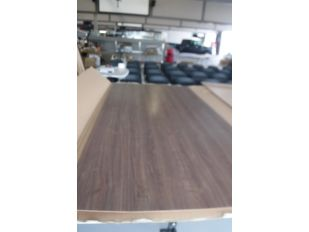 LOT QTY OF TWO 4' X 8' WOODEN PANEL BOARD WALL PANEL