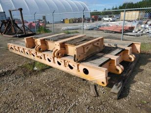 SET EQUIPMENT TRAILER EXTENTION 1 LARGE, 1 SMALL