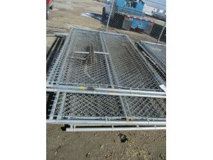SKID OF 14 SECTIONS CHAIN LINK FENCE