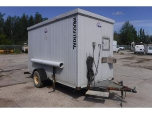 "TRAILER FACTORY 11'8"" X 5'8"" S/A ENCLOSED TRAILER"