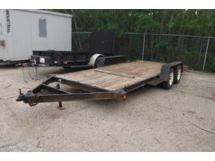 1993 NEW CONCEPT 16' T/A EQUIPMENT TRAILER