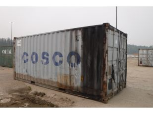 1996 COSCO 20' SHIPPING CONTAINER
