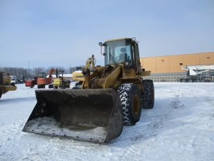 1997 CAT 938F RUBBER TIRE 4X4 LOADER