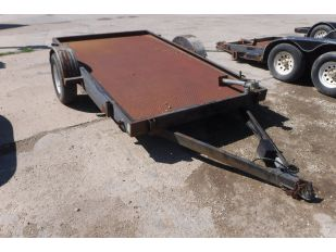 2002 DOUBLE A 6' X 10' S/A UTILITY TRAILER