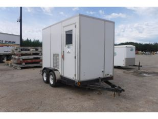 2002 DOUBLE A 6' X 10' T/A ENCLOSED TRAILER