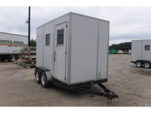 2002 DOUBLE A 6' X 12' T/A ENCLOSED TRAILER