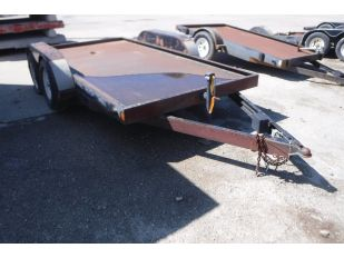 2002 DOUBLE A 6' X 12' T/A UTILITY TRAILER