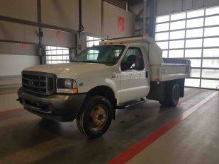 "2003 FORD F450SD DW 7'9"" X 9' STEEL BOX"