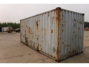 2004 COSCO 20' SHIPPING CONTAINER
