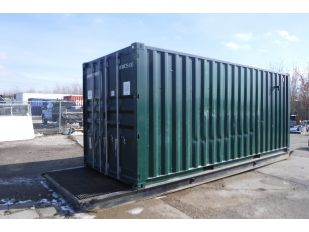 2005 8' X 20' SEA CONTAINER ON 24' SKID