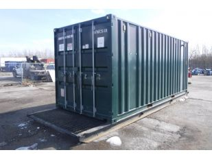 2006 8' X 20' SEA CONTAINER ON 24' SKID