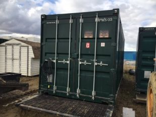 2006 8' X 20' SKIDDED SEA CONTAINER