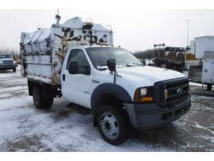 2007 FORD F550SD DW GARBAGE TRUCK