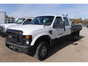 2008 FORD F350SD CRCB 4X4 XL