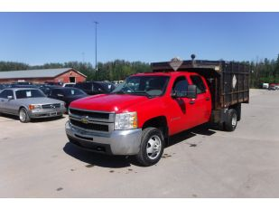 2009 CHEVROLET 3500HD CRCB DW 4X4
