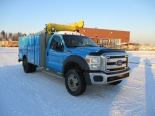 2011 FORD F550SD DW 4X4