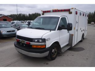 2012 CHEV 3500 AMBULANCE