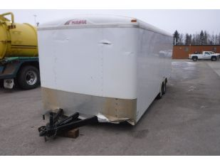 2013 MIRAGE 20' ENCLOSED T/A TRAILER