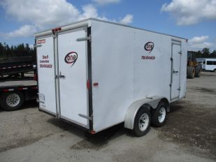2013 TNT TRAILERS 16' T/A ENCLOSED