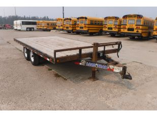 2014 LOAD TRAIL 16' T/A EQUIPMENT TRAILER