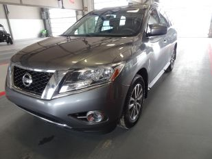 2016 NISSAN PATHFINDER SV 4D UTILITY 4WD AT